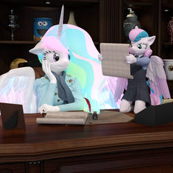 Wise Council by TheOwlGoesMoo