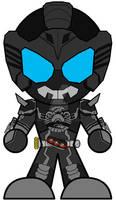 SD Kamen Rider Dark OOO SaNiBi