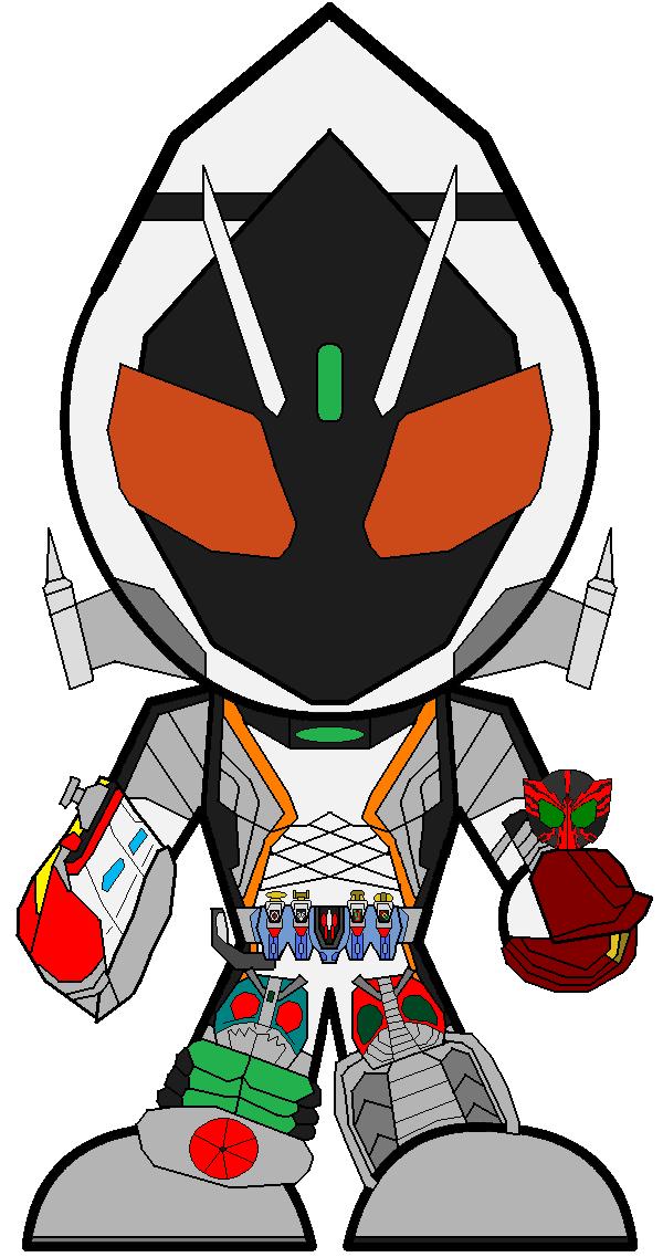 SD Kamen Rider Fourze - Legend by Zeltrax987