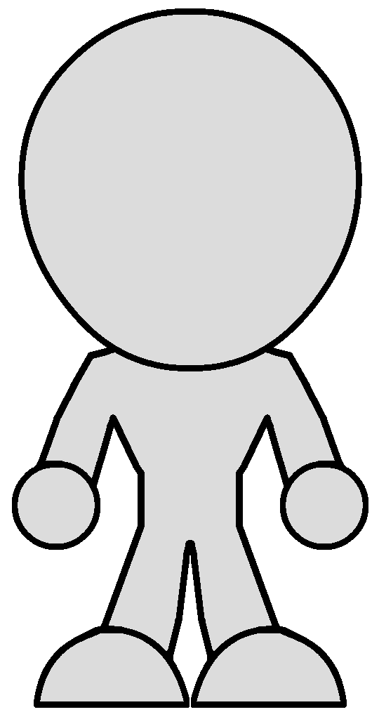 Chibi Body Template V2 female by Zeltrax987 on DeviantArt
