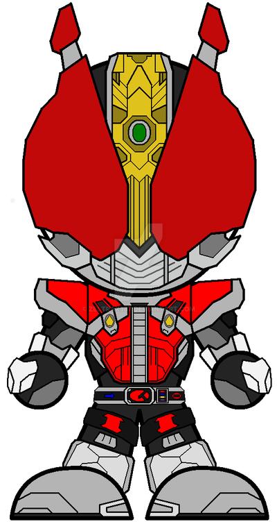 Chibi Kamen Rider Den-O Sword by Zeltrax987