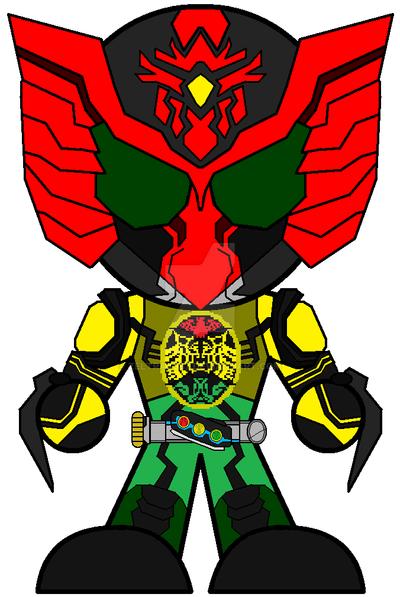 Kamen Rider Ooo Super Tatoba | - 147.6KB