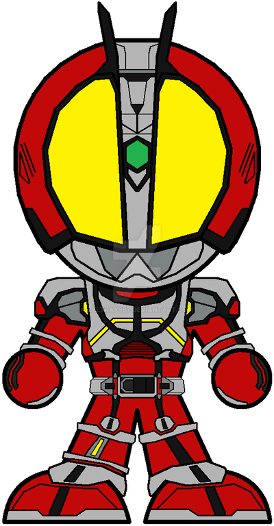 Chibi Kamen Rider Faiz - Blaster Form by Zeltrax987 on ...