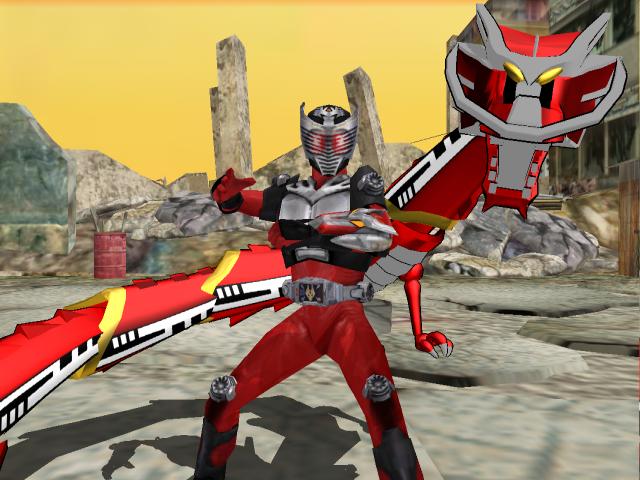 MMD NC - Kamen Rider Ryuki by Zeltrax987