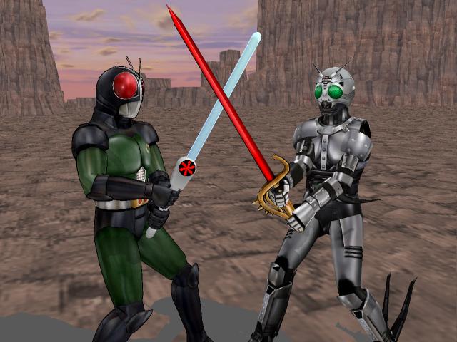 MMD - Black RX vs ShadowMoon by Zeltrax987 on DeviantArt