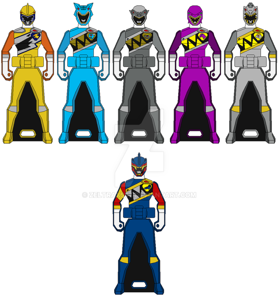 TRIAL NEO - New Kyoryuger Ranger Key Set by Zeltrax987 on ...