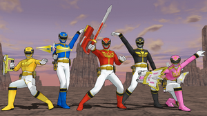 MMD NC - Goseigers and Arsenal by Zeltrax987