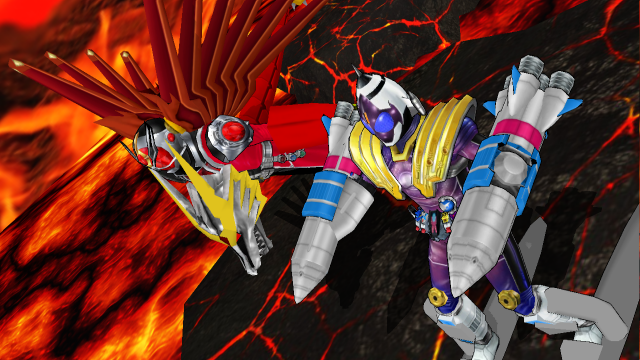 MMD NC - Fourze MN Fusion States by Zeltrax987 on DeviantArt