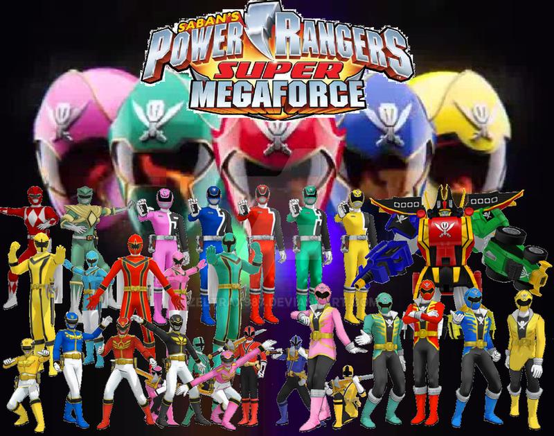 Power Rangers Super Megaforce Wallpaper By Scottasl On DeviantArt