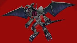 MMD NC - Black Skull Dragon
