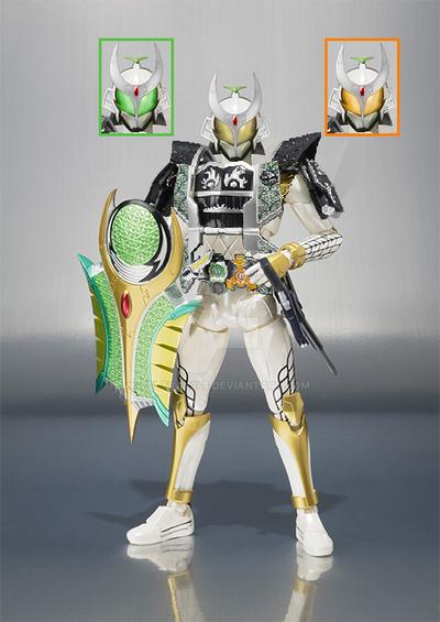WhatIf SHF Kamen Rider Zangetsu (Jimba Melon Arms) by Zeltrax987
