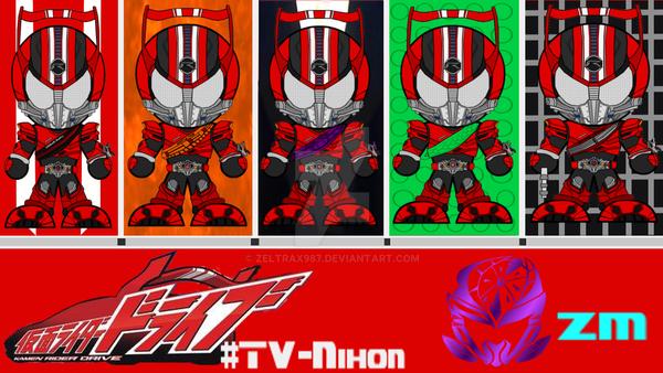Kamen Rider Drive Episode Splash-Page 1 by Zeltrax987 on
