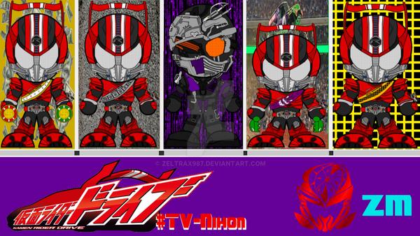 Kamen Rider Drive Episode Splash-Page 2 by Zeltrax987 on