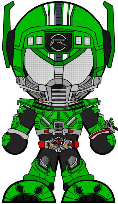 Chibi Kamen Rider Drive - Type Technic V2 by Zeltrax987 on