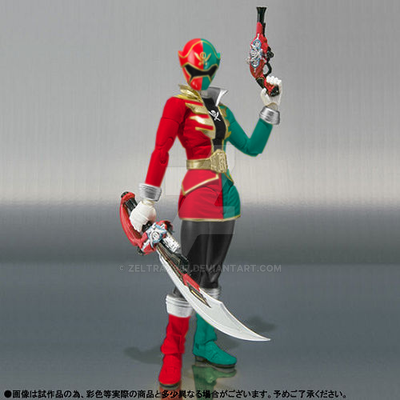 What-If - SHF Female Gokai-Christmas by Zeltrax987 on DeviantArt