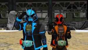 MMD NC - Kamen Rider Specter Ore Damashii