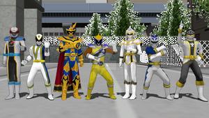 MMD - Super Sentai, UPGRADE!!!