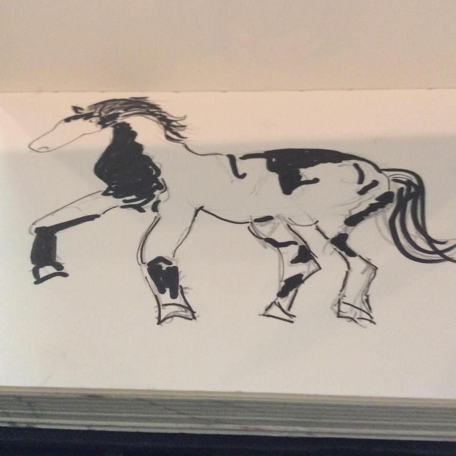 Dancing horse by Dancing-horse