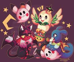 halloween stuff! by Fawnshy