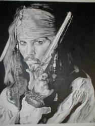 Pointilism...Johnny Depp