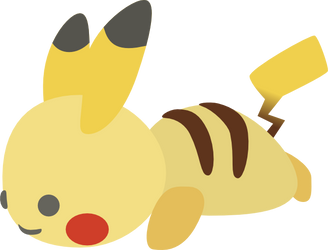 Pikachu by KaySix-10i