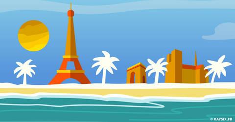 Paris plage by KaySix-10i