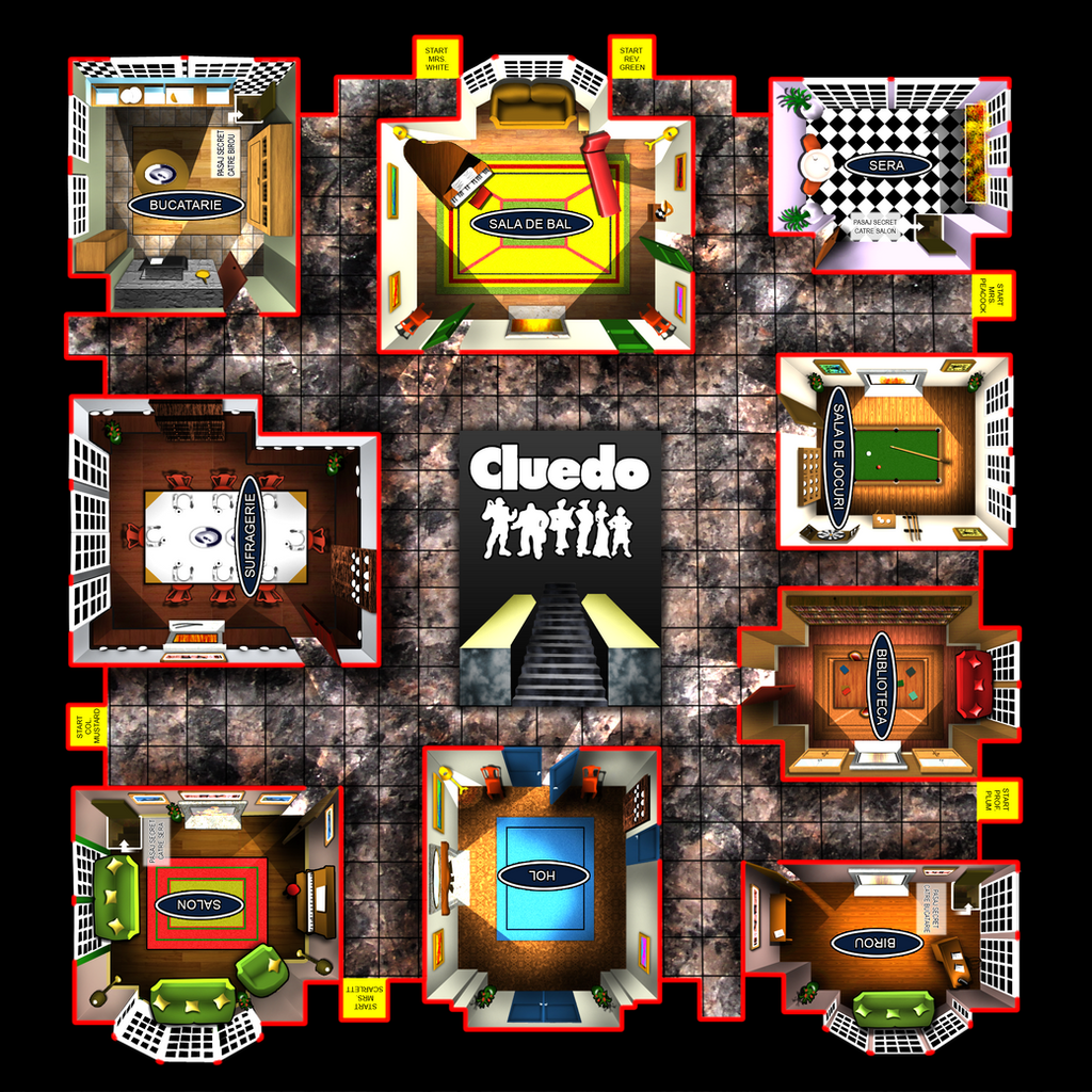 play cluedo online board game