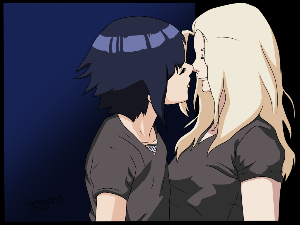 Can I Kiss You? by InoHinaFan95