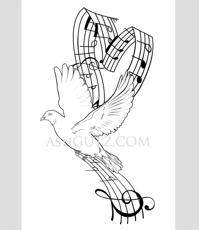 Dove Tattoo Design Picture 5