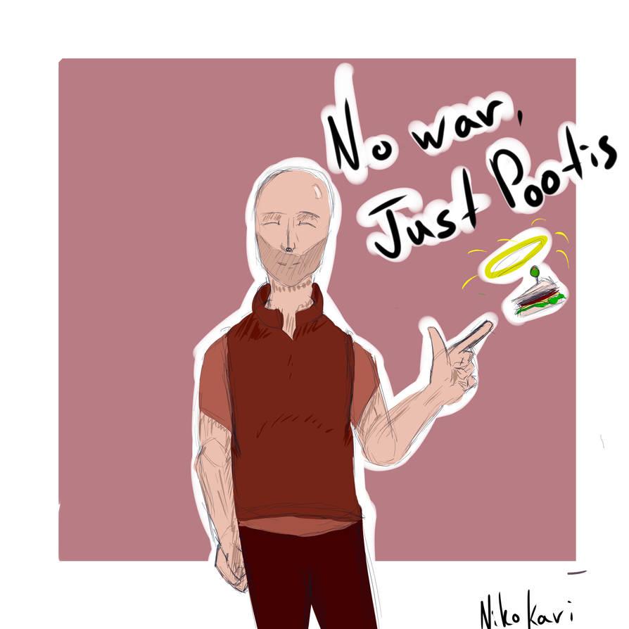 Just Pootis by NikoKari