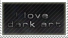 love dark-art stamp by wol4ica-stock