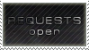 requests open stamp by wol4ica-stock