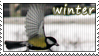 winter stamp by wol4ica-stock