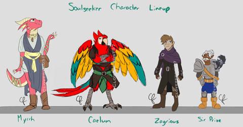 Soulseeker PC designs by Cloverfrost97