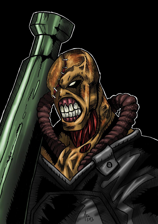 Nemesis ( Resident Evil 3 ) by Maaralk