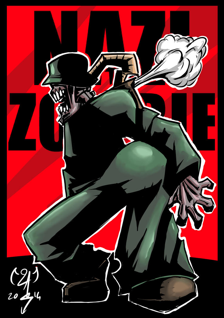 Nazi Zombie by Maaralk