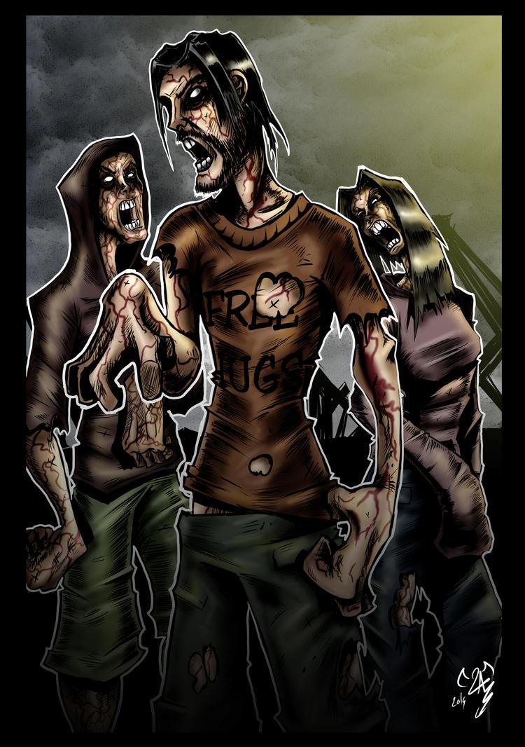 Zombies by Maaralk
