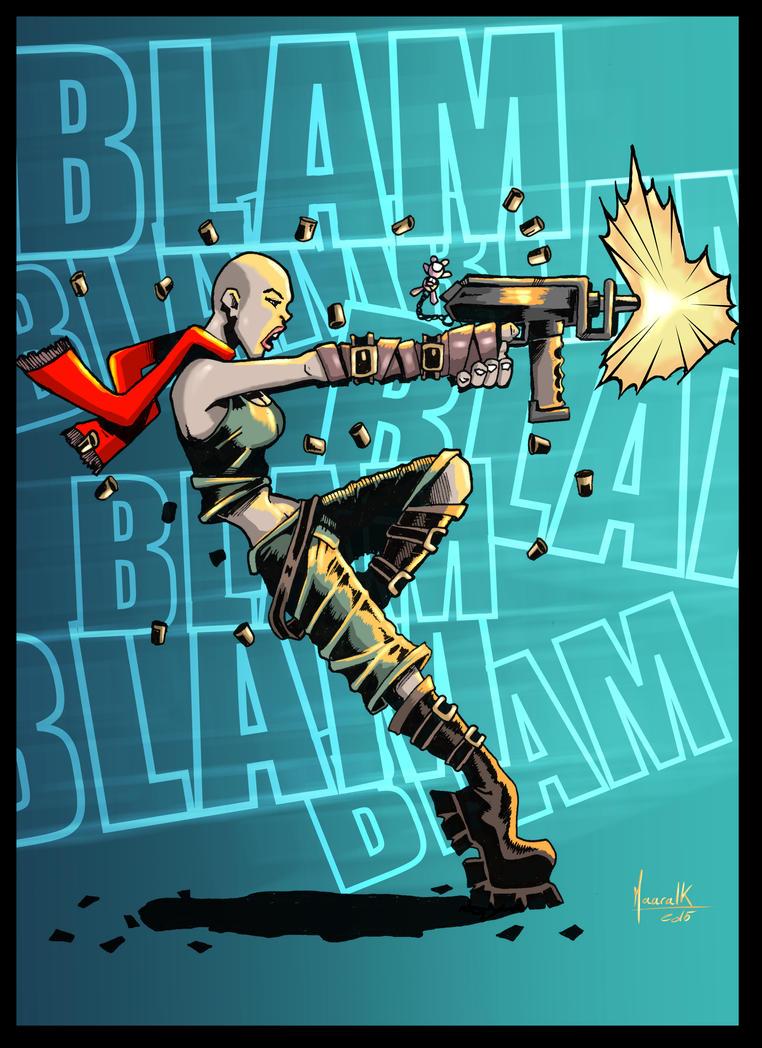 Blam Blam ! by Maaralk