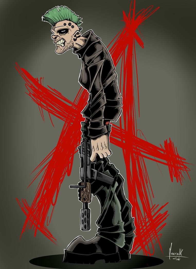 Warrior Punk by Maaralk