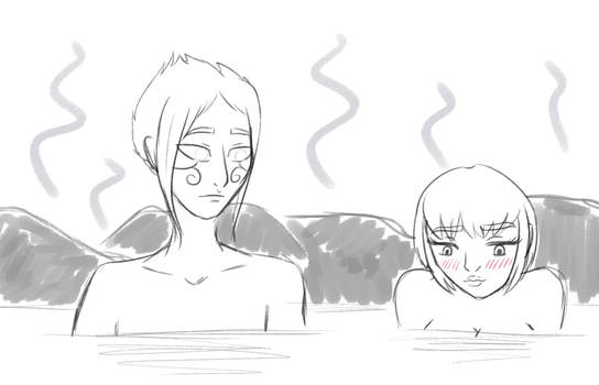 Hotspring Sketch