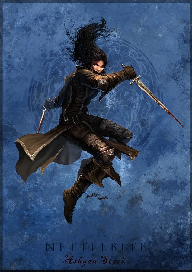 Ashgan Stark by Hellstern