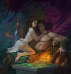 Mars and Venus by Hellstern