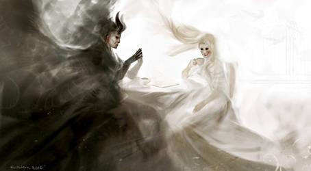 Teatime by Hellstern