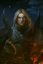 Arthas for Azi by Hellstern
