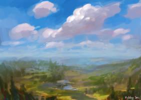 clouds by Hellstern