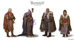 Torn Empire costumes