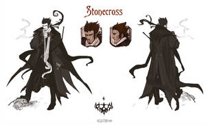 Stonecross: Cyrus concept sheet by Hellstern