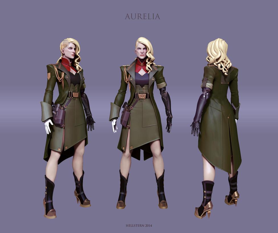 Aurelia WIP by Hellstern