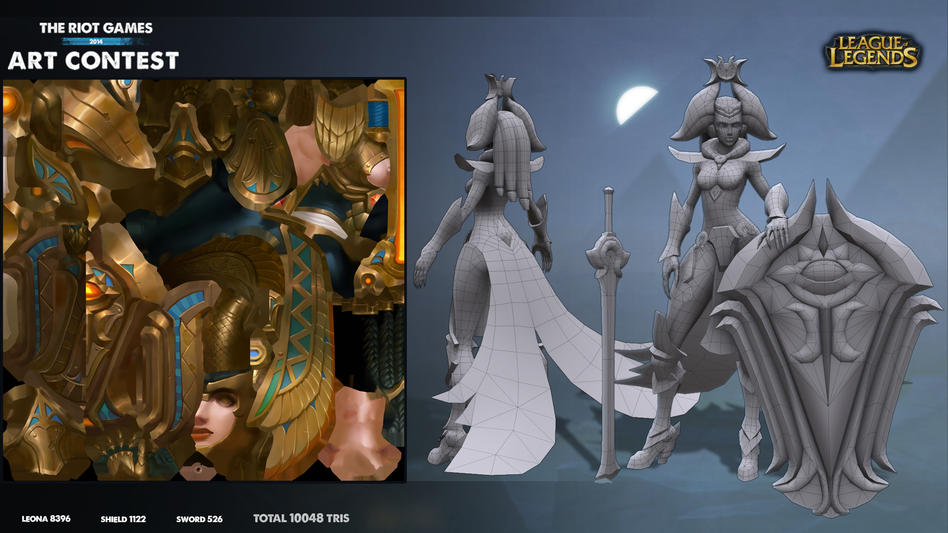 League Of Legends Character Design Contest : Riot art contest leona constructive shot by hellstern on
