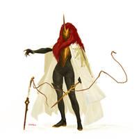 Ruby Pin by Hellstern